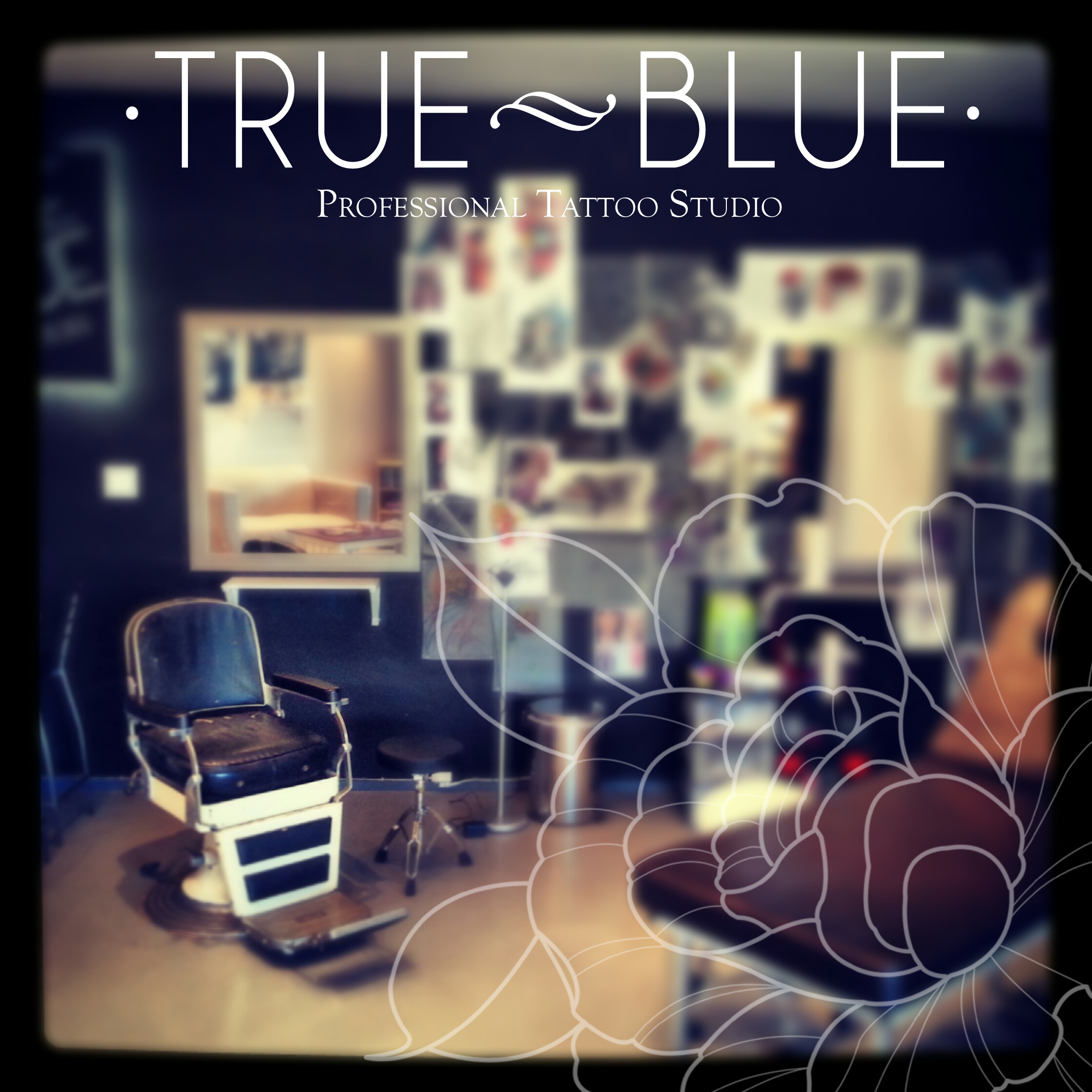 True Blue Tattoo