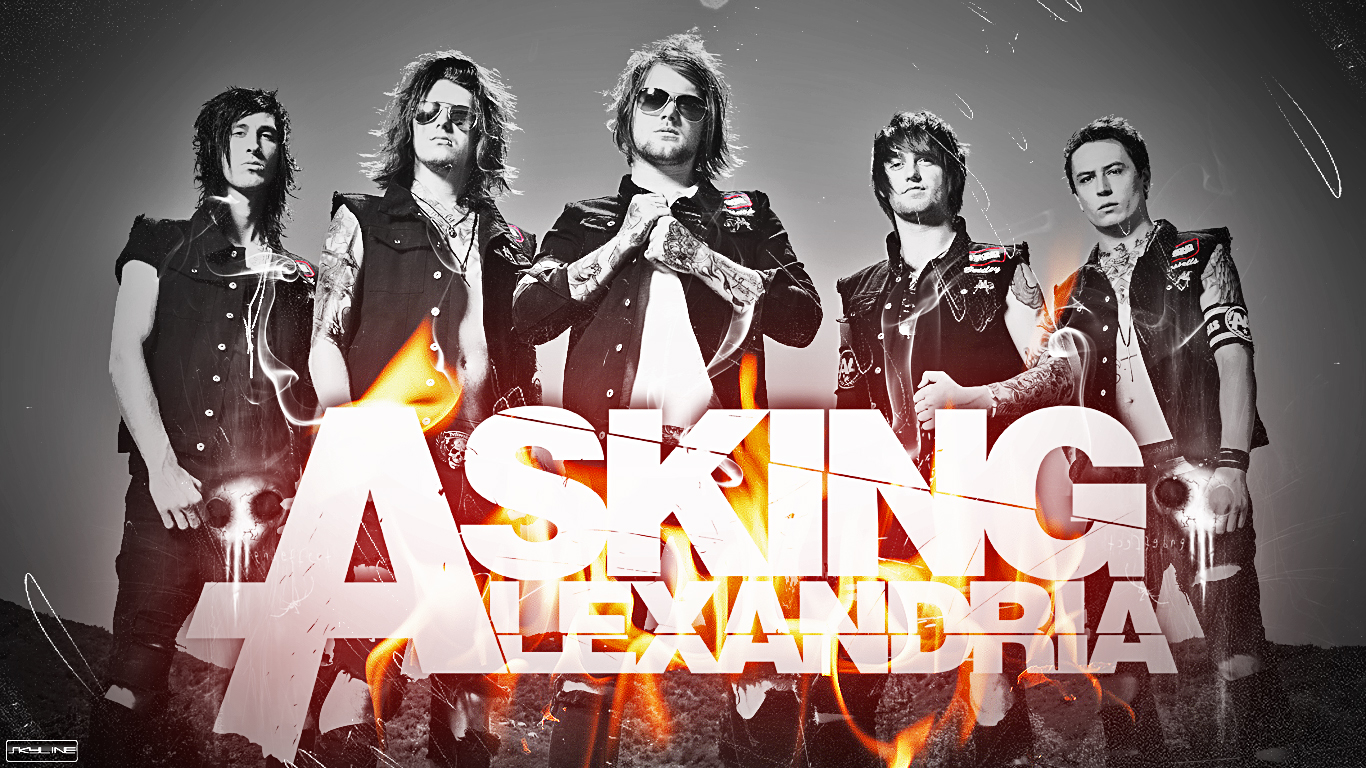 Asking Alexandria     South Africa Tour 2014     ReviewAsking Alexandria Lyrics Wallpaper