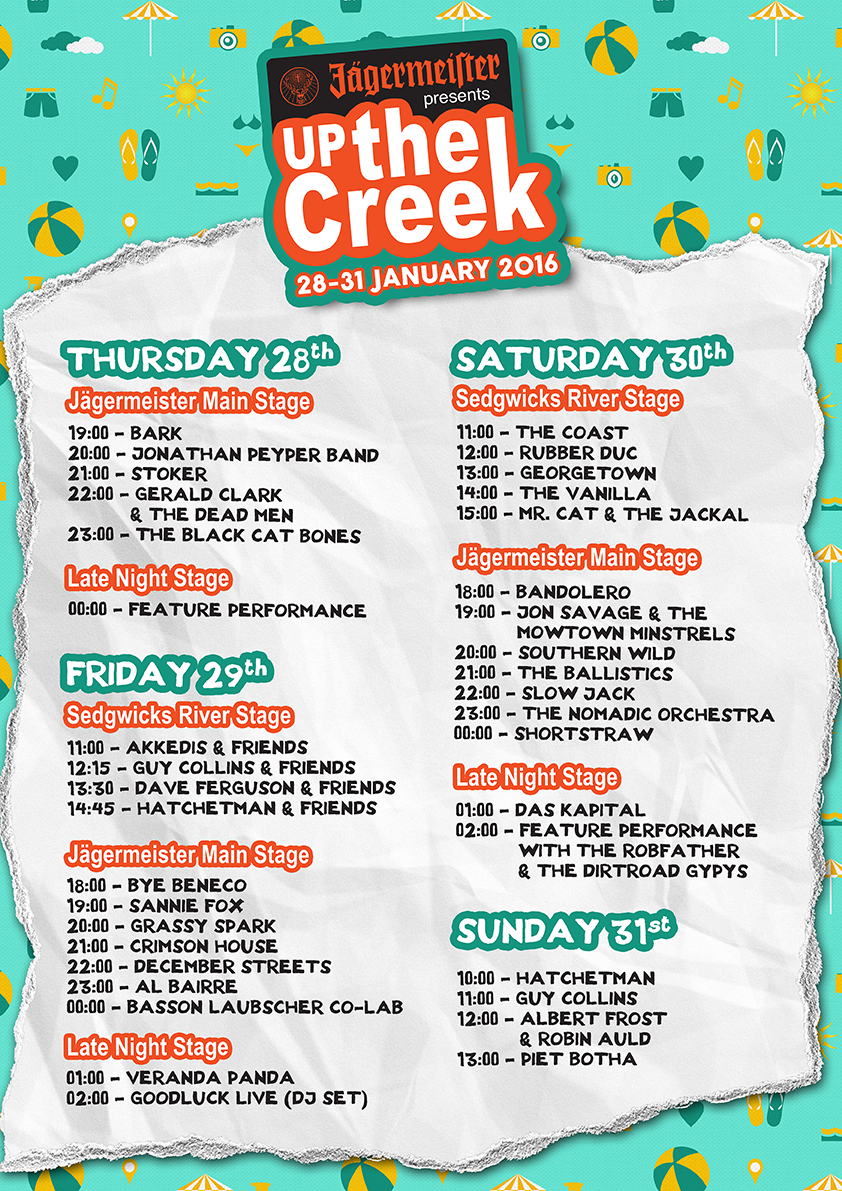 Top 5 Things To Look Forward To At Up The Creek