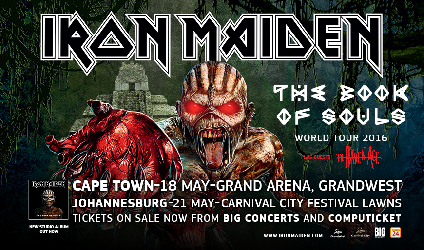 Big Concerts - Iron Maiden Ticket Give-Away