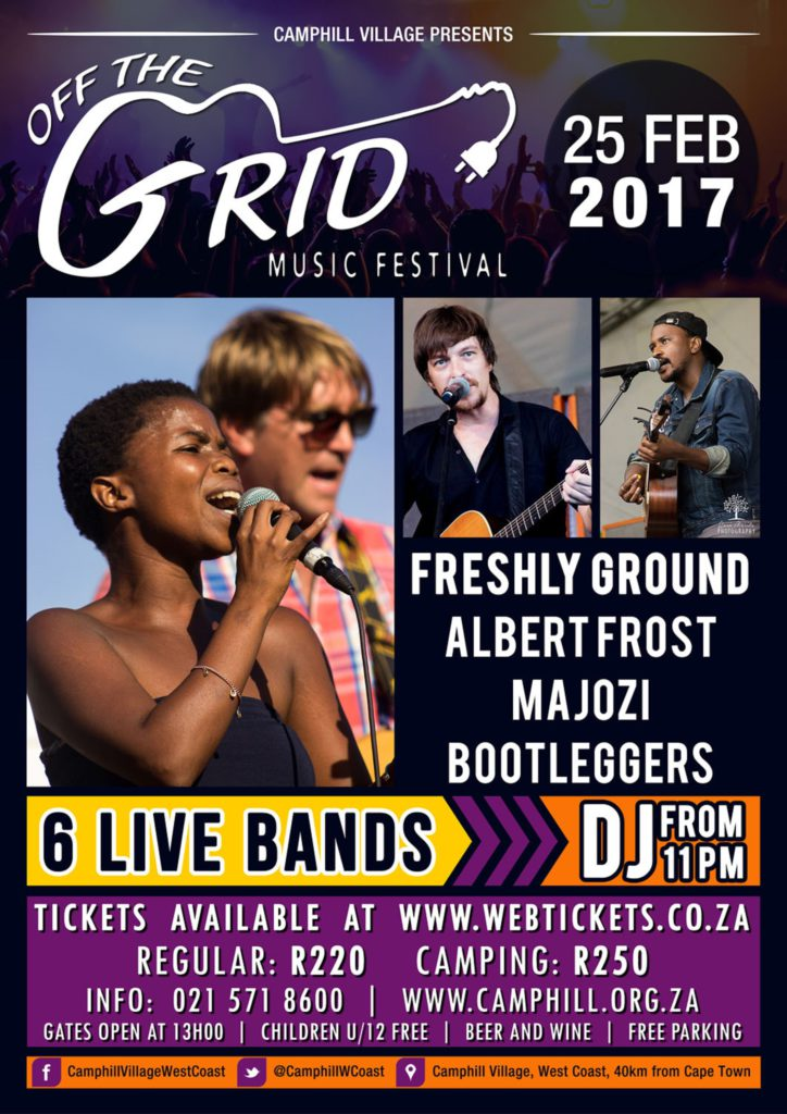 Off The Grid Music Festival 2017