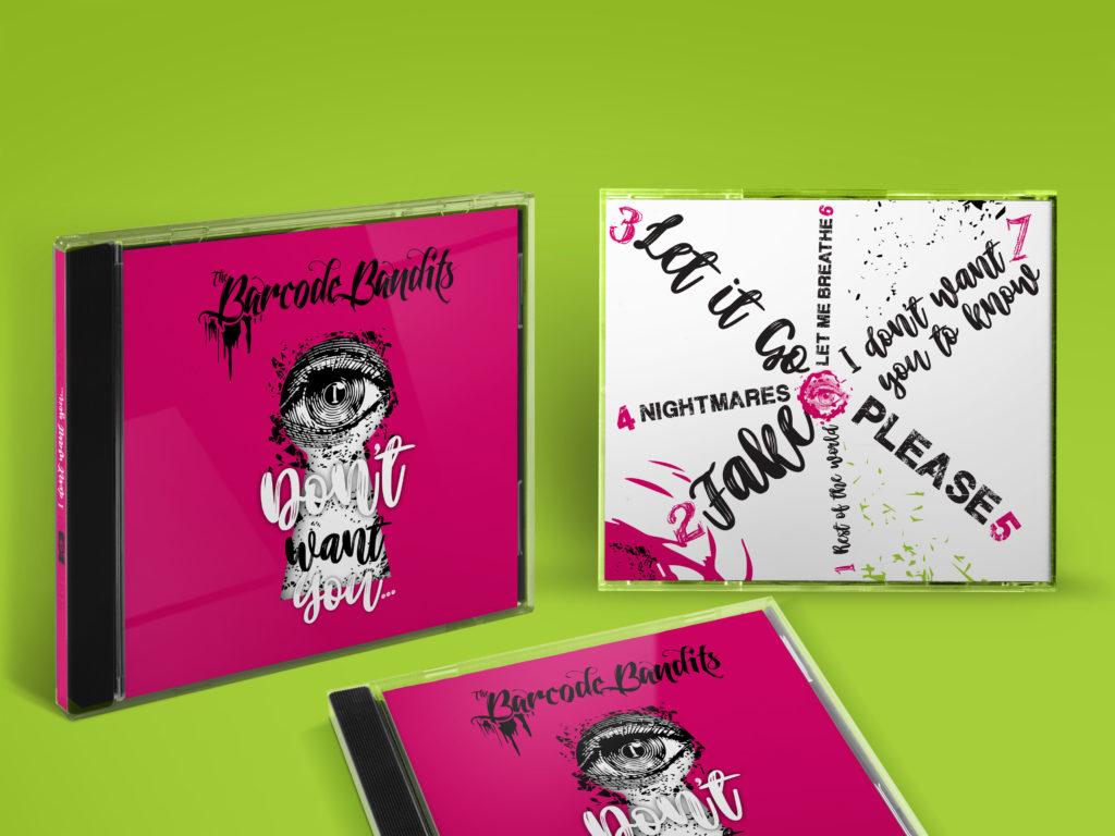 CD BANDITS I DONT WANT YOU